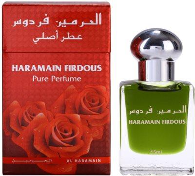 Al Haramain Firdous aceite perfumado para hombre   (roll on)