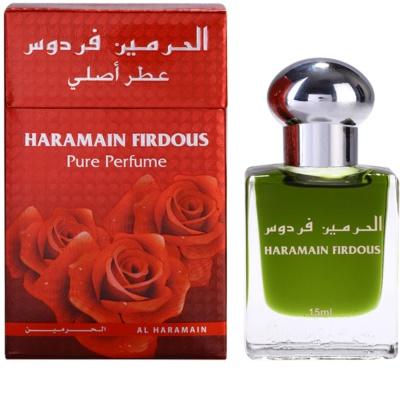 Al Haramain Firdous óleo perfumado para homens   (roll on)