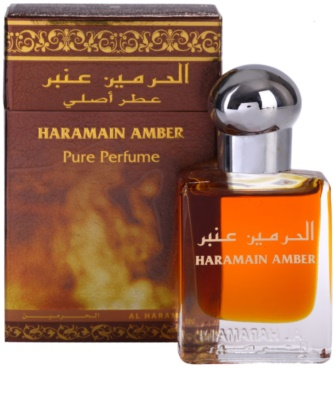Al Haramain Haramain Amber parfémovaný olej unisex 1