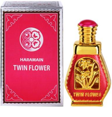 Al Haramain Twin Flower aceite perfumado para mujer