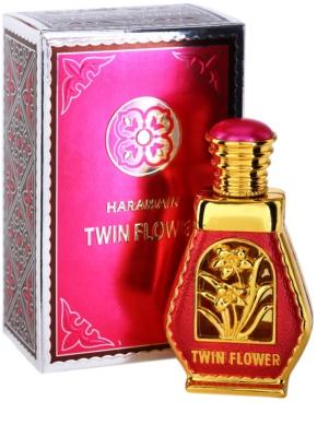 Al Haramain Twin Flower aceite perfumado para mujer 1