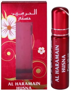 Al Haramain Husna óleo perfumado para mulheres