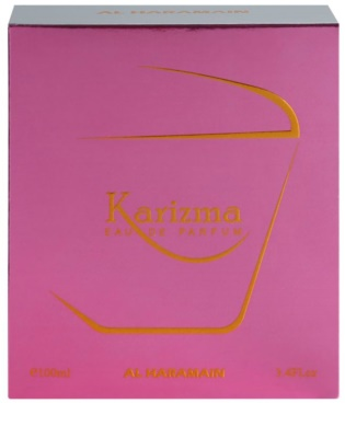 Al Haramain Karizma Eau de Parfum für Damen 4