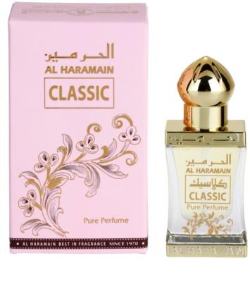 Al Haramain Classic parfémovaný olej unisex