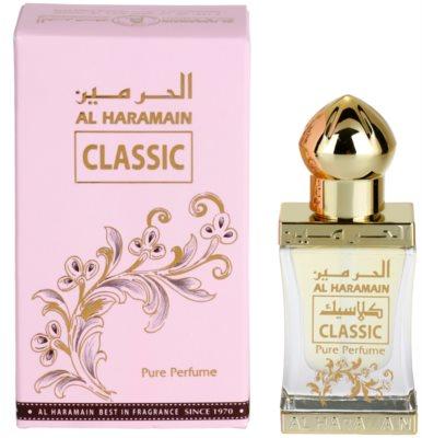 Al Haramain Classic parfümiertes Öl unisex