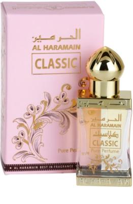 Al Haramain Classic aceite perfumado unisex 1