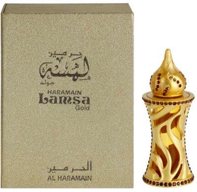 Al Haramain Lamsa Gold Perfumed Oil unisex