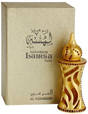 Al Haramain Lamsa Gold olejek perfumowany unisex 1