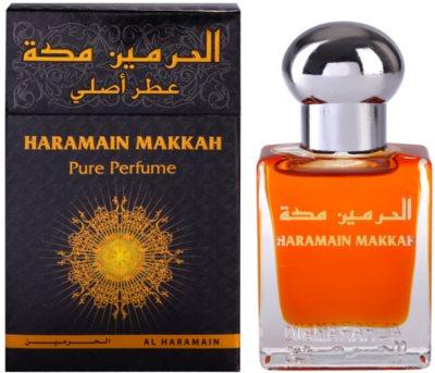 Al Haramain Makkah parfémovaný olej unisex