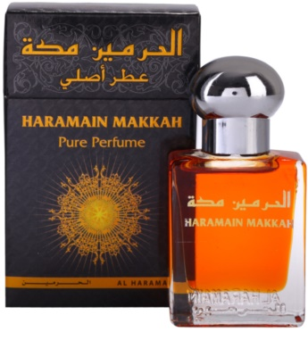 Al Haramain Makkah óleo perfumado unissexo 1