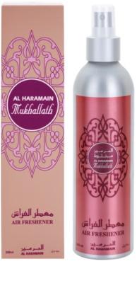 Al Haramain Mukhallath spray lakásba