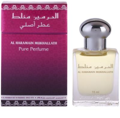 Al Haramain Mukhallath parfümiertes Öl unisex