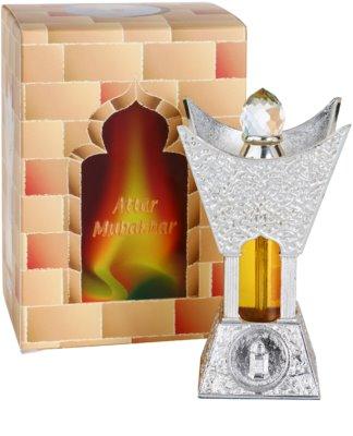 Al Haramain Attar Mubakhar Silver parfümiertes Öl für Damen 1