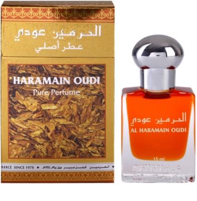 Al Haramain Oudi aceite perfumado unisex