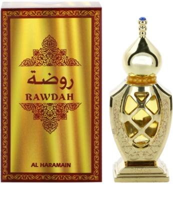 Al Haramain Rawdah perfume unisex