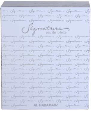 Al Haramain Signature Eau de Toilette para homens 4
