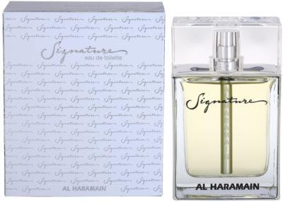 Al Haramain Signature eau de toilette férfiaknak