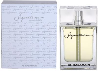 Al Haramain Signature Eau de Toilette para homens