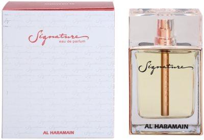 Al Haramain Signature eau de parfum nőknek