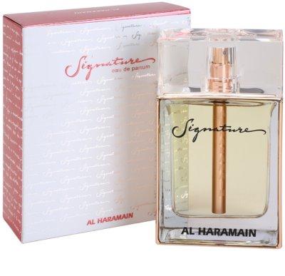 Al Haramain Signature eau de parfum para mujer 1
