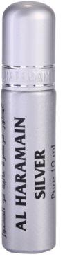 Al Haramain Silver парфумована олійка унісекс 2