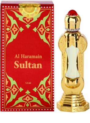 Al Haramain Sultan Perfumed Oil unisex