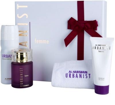 Al Haramain Urbanist Femme set cadou