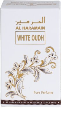 Al Haramain White Oudh illatos olaj unisex 3