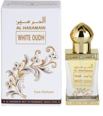 Al Haramain White Oudh aceite perfumado unisex