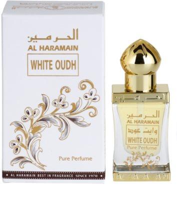 Al Haramain White Oudh parfumirano olje uniseks