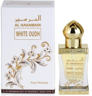 Al Haramain White Oudh ulei parfumat unisex