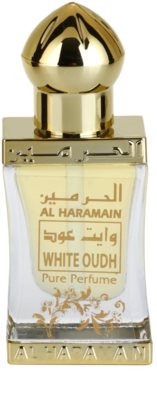 Al Haramain White Oudh illatos olaj unisex 2