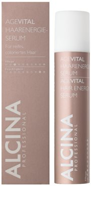 Alcina AgeVital energetické sérum pro barvené vlasy 1