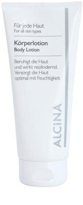 Alcina For All Skin Types Körpermilch mit dem Coenzym Q10