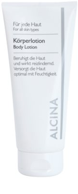 Alcina For All Skin Types leche corporal con coenzima Q10