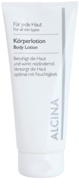 Alcina For All Skin Types mleczko do ciała z koenzymem Q10