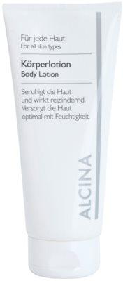 Alcina For All Skin Types testápoló tej koenzim Q10