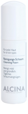 Alcina For All Skin Types Reinigungsschaum mit Panthenol