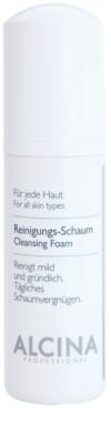 Alcina For All Skin Types почистваща пяна  с пантенол