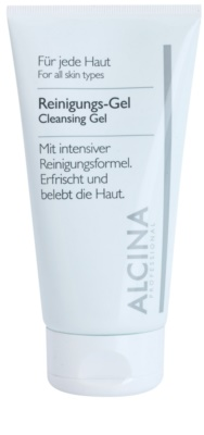 Alcina For All Skin Types gel limpiador con aloe vera y zinco