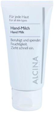 Alcina For All Skin Types Lapte pentru maini impotriva uscarii pielii