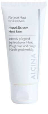 Alcina For All Skin Types Handbalsam für trockene und rissige Haut