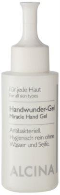 Alcina For All Skin Types Gel antibacterial pentru maini.