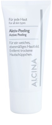 Alcina For All Skin Types aktivni piling za nežno in gladko kožo