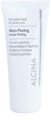 Alcina For All Skin Types активний пілінг для ніжної та розгладженої шкіри