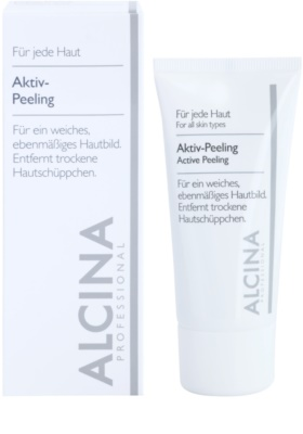 Alcina For All Skin Types aktivni piling za nežno in gladko kožo 1