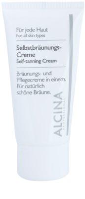 Alcina For All Skin Types samoopalovací krém na obličej