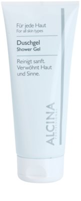 Alcina For All Skin Types gel de duche com minerais