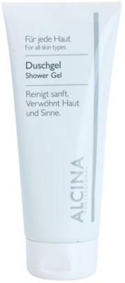 Alcina For All Skin Types tusfürdő gél ásványi anyagokkal