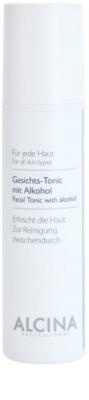 Alcina For All Skin Types tónico facial con alcohol